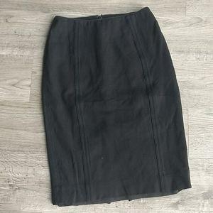WHBM Seamed Pencil Skirt in Heavy Weight Jersey